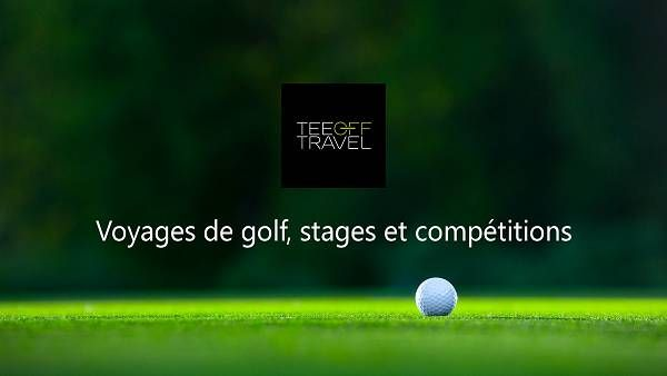 Tee Off Travel ⛳️ Voyages de golf, stages et compétitions
